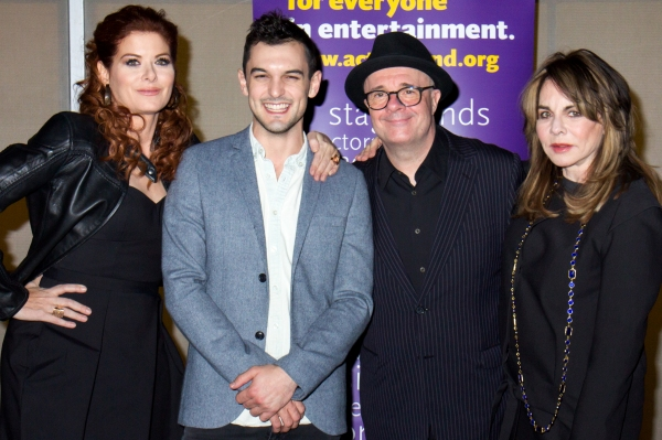 Debra Messing, Wesley Taylor, Nathan Lane, Stockard Channing
