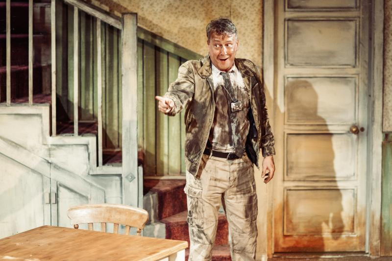 Photo Flash: First Look at Dan Fredenburgh, Erik Odom and More in PIG FARM at the St. James