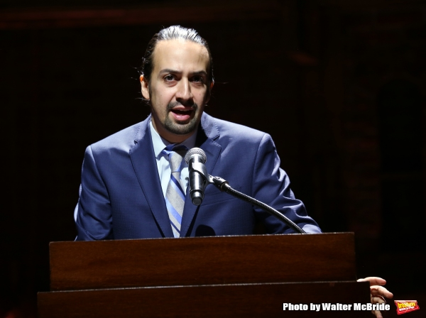 Photo Coverage: Lin-Manuel & HAMILTON Team Launch Educational Program for 20,000 Lucky Students!