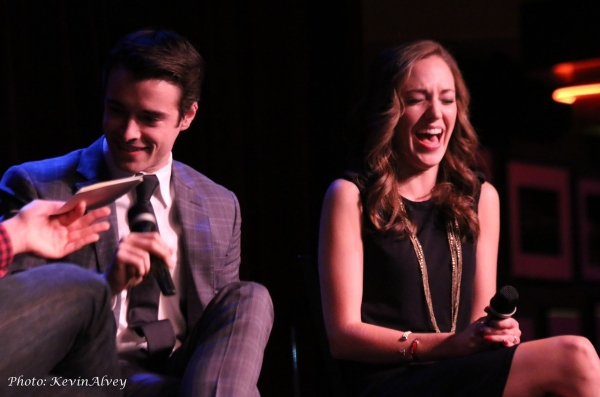 Photo Flash: Laura Osnes, Corey Cott and More Join Frank DiLella in 'SHOW BIZ AFTER HOURS' at Birdland