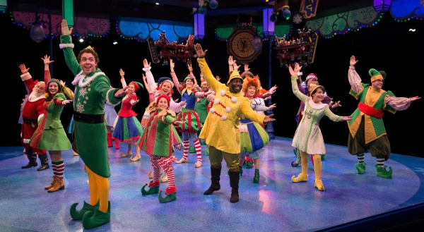 Photo Flash: First Look at Alex Goodrich and More in ELF at The Marriott Theatre