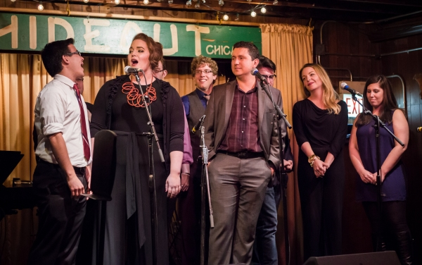 Photo Flash: Inside The Brown Paper Box Co.'s 5-Year Anniversary Bash