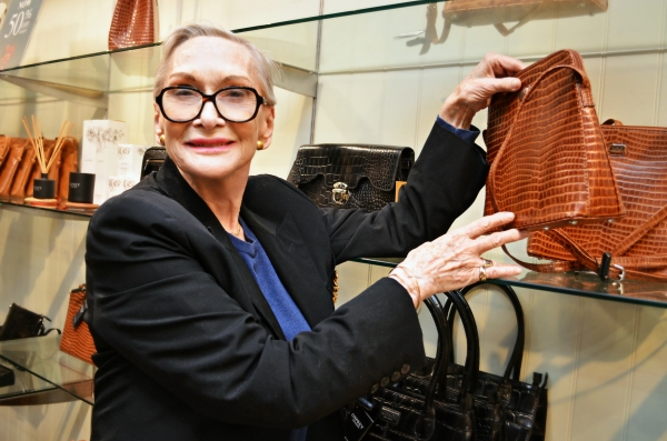 Sian Phillips, star of Wyvern Theatre''s THE IMPORTANCE OF BEING EARNEST, brings a famous Oscar Wilde line to life at Swindon Designer Outlet.