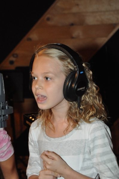 Exclusive Photo Coverage: LES MISERABLES Company Gathers in the Recording Studio for Carols For A Cure!