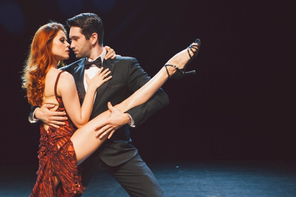 Photo Flash: Sneak Peek at Anna Trebunskaya and Dmitry Chaplin in FOREVER TANGO at Herbst Theatre
