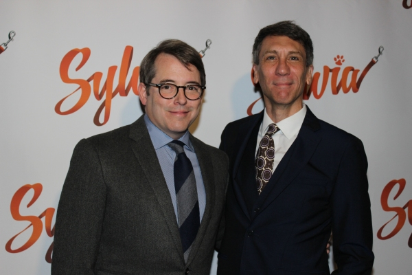 Matthew Broderick and Robert Sella
