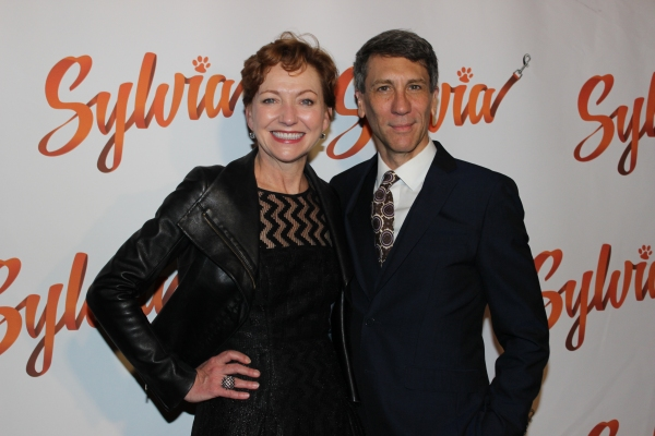 Julie White and Robert Sella