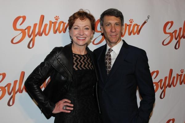 Julie White and Robert Sella