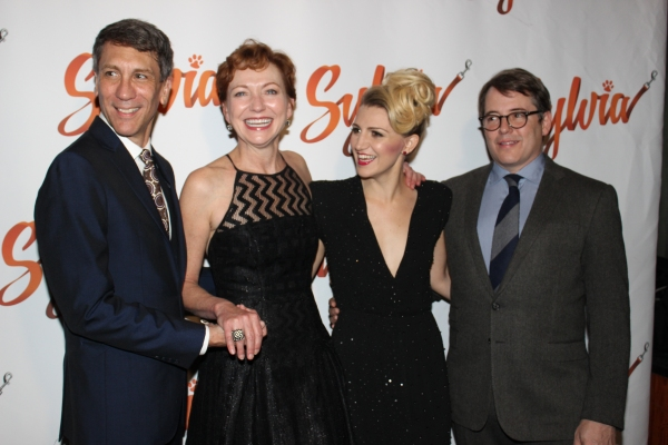 Robert Sella, Julie White, Annaleigh Ashford and Matthew Broderick