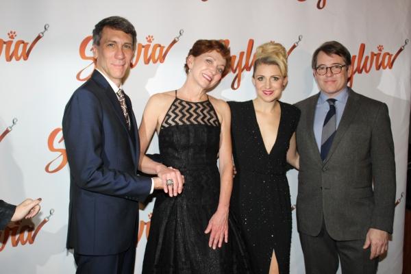 Robert Sella, Julie White, Annaleigh Ashford and Matthew Broderick