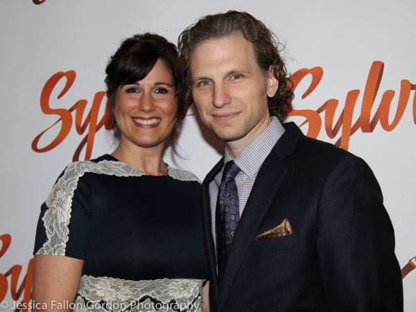 Stephanie J. Block and Sebastian Arcelus