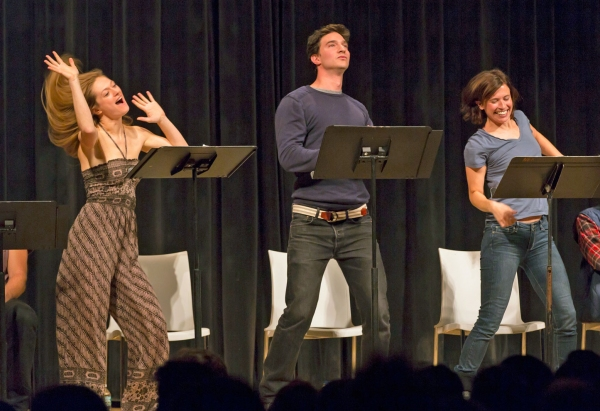 Marin Ireland, Jake Silbermann, Hannah Cabell Photo