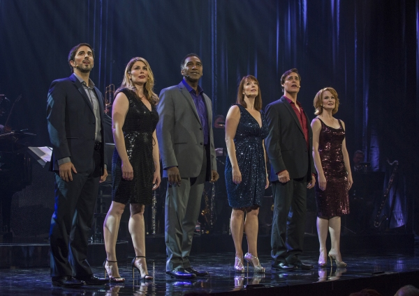 Matthew Scott, Heidi Blickenstaff, Norm Lewis, Julia Murney, James Clow and Kate Baldwin