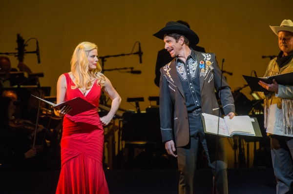Megan Hilty and Andy Karl
