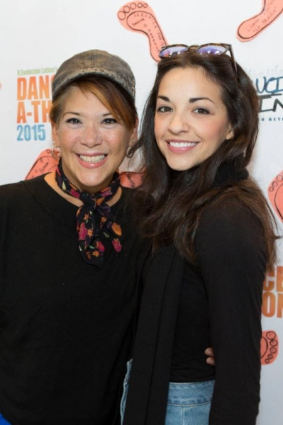 Doreen Montalvo and Ana Villafane