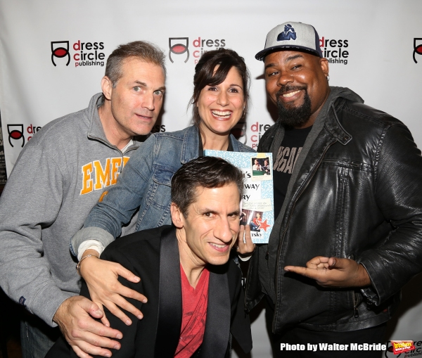 Marc Kudisch, Stephanie J. Block, Seth Rudetsky and James Monroe Iglehart