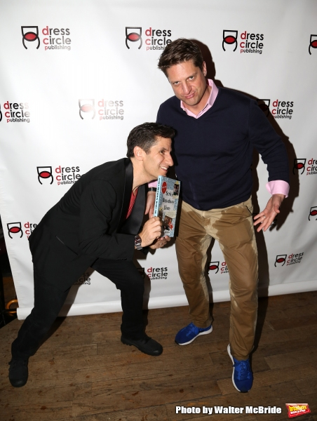 Seth Rudetsky and Christopher Sieber
