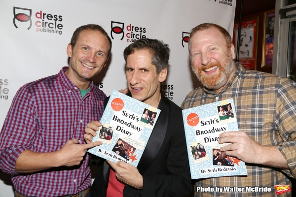 Jeff Bowen, Seth Rudetsky and Hunter Bell