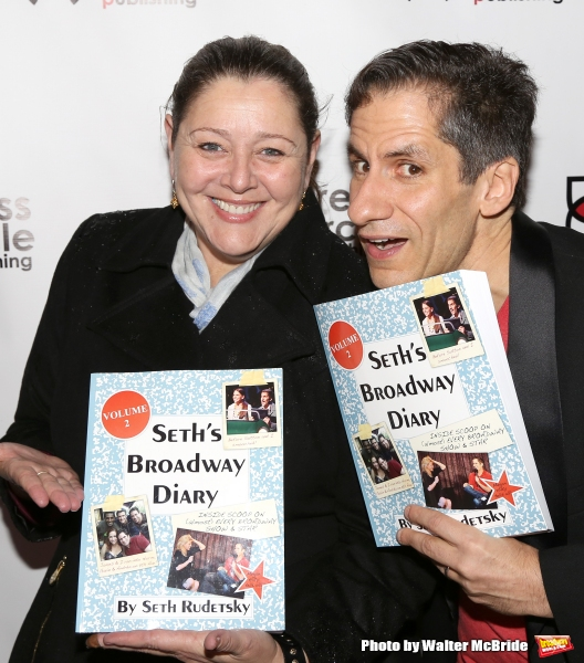 Camryn Manheim and Seth Rudetsky