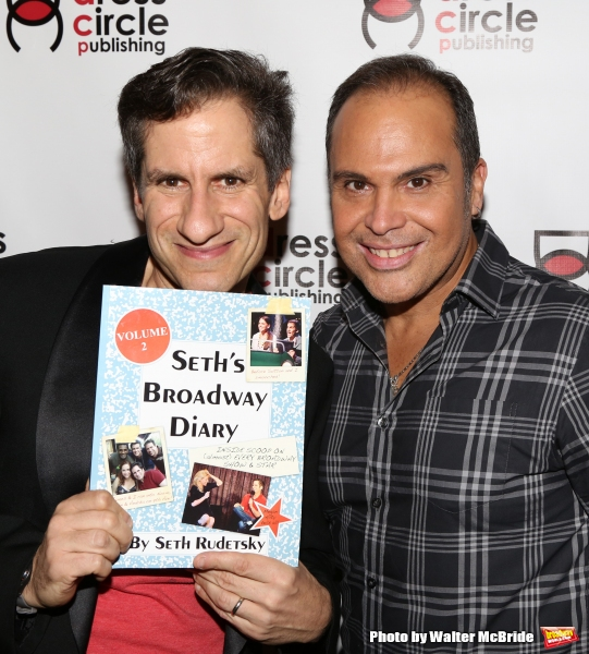 Seth Rudetsky and Elisio Roman