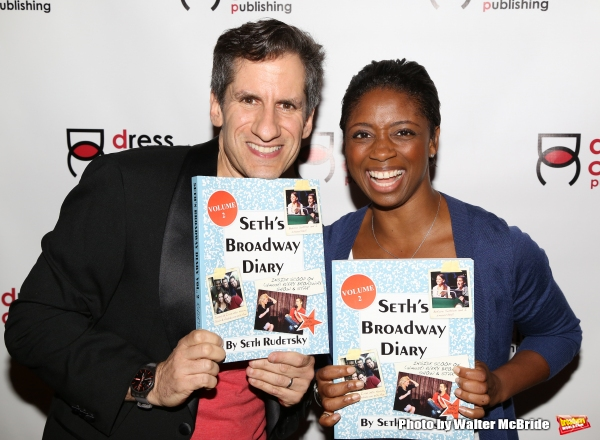 Seth Rudetsky and Montego Glover
