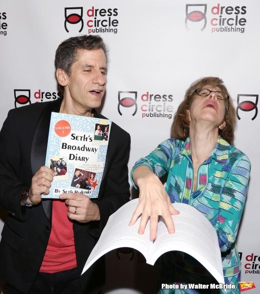 Seth Rudetsky and Jackie Hoffman