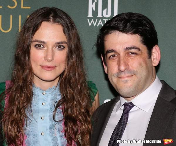 Keira Knightley and director Evan Cabnet