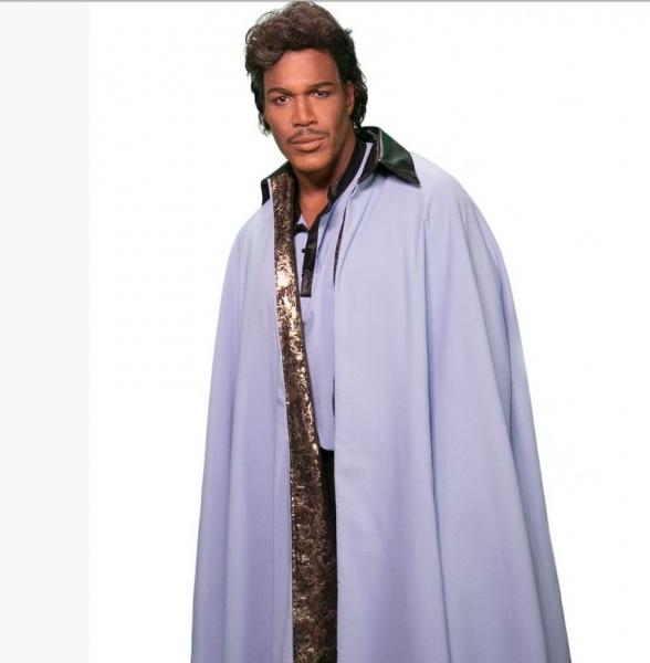 Michael Strahan as Star Wars Lando Calrissian
