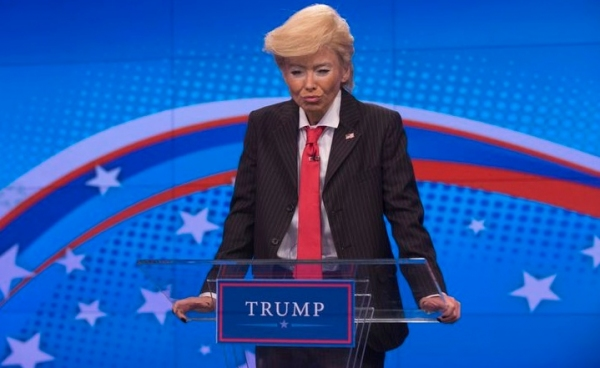 Kelly Ripa as Donald Trump