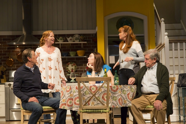The cast of CHOICE at Huntington Theatre Company