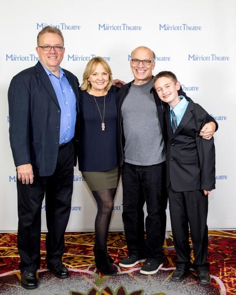 Neil Friedman, Susie McMonagle, Kevin Gudahl and Cam Ezell Photo