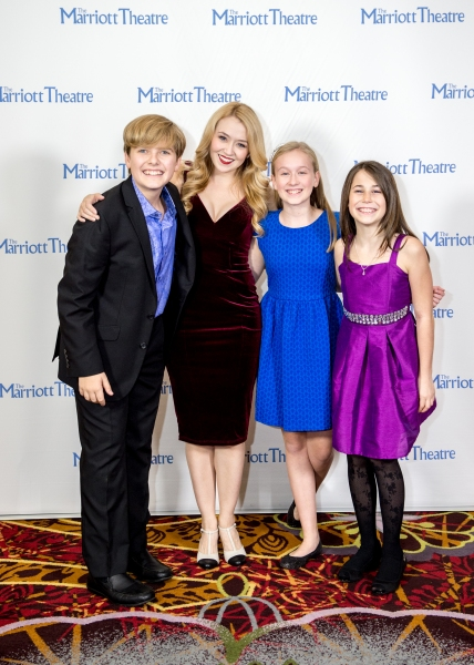 Will Anderson, Laura Savage, Isabelle Roberts and Emily Faith Zimmerman