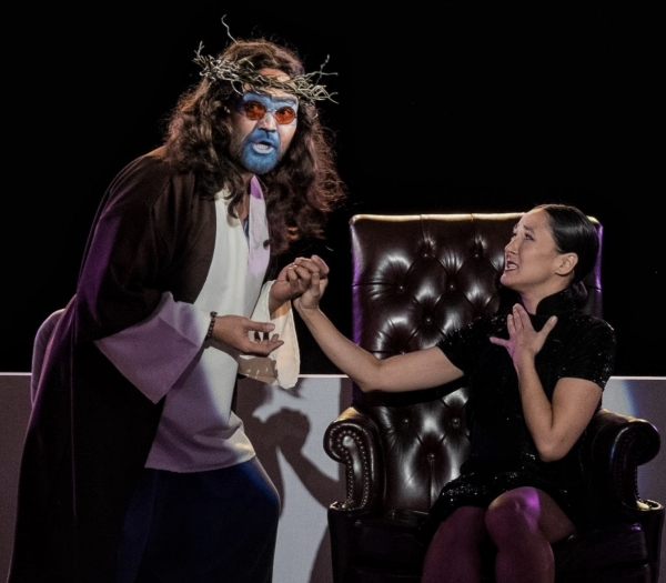 Photo Flash: First Look at CHARLES FRANCIS CHAN, JR.'S EXOTIC ORIENTAL MURDER MYSTERY at NAATCO