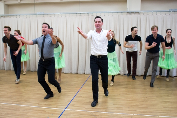 Photo Coverage: Happy Holidays! Sneak Peek at Scenes from New IRVING BERLIN'S WHITE CHRISTMAS National Tour