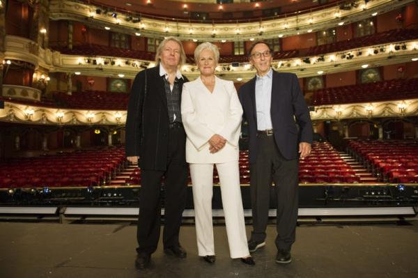 Christopher Hampton, Glenn Close and Don Black