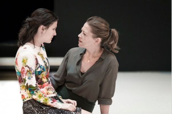 Phoebe Fox and Nicola Walker