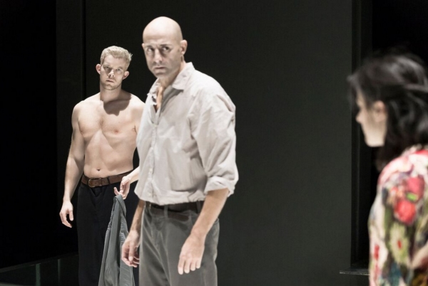 Russell Tovey, Mark Strong and Phoebe Fox