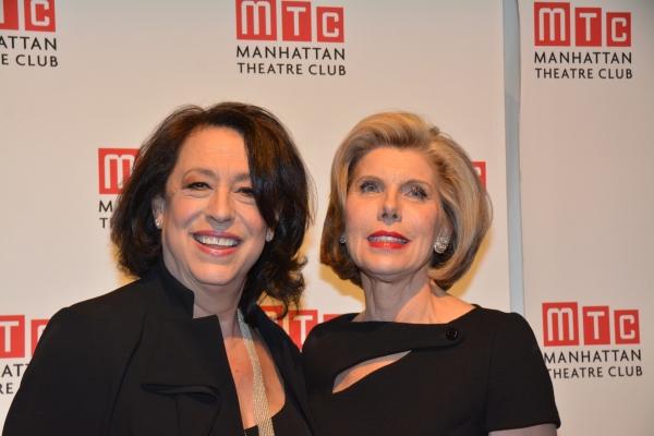 Lynne Meadow and Christine Baranski