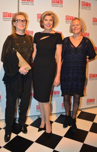 Meryl Streep, Christine Baranski and Phyllida Lloyd