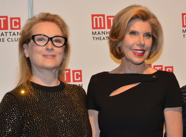 Meryl Streep and Christine Baranski