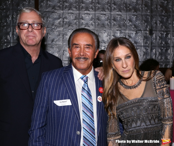 Scott Wittman, Board President Frank Carucci and Sarah Jessica Parker