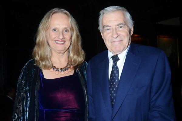 Nancy Rhodes and Lee Adams