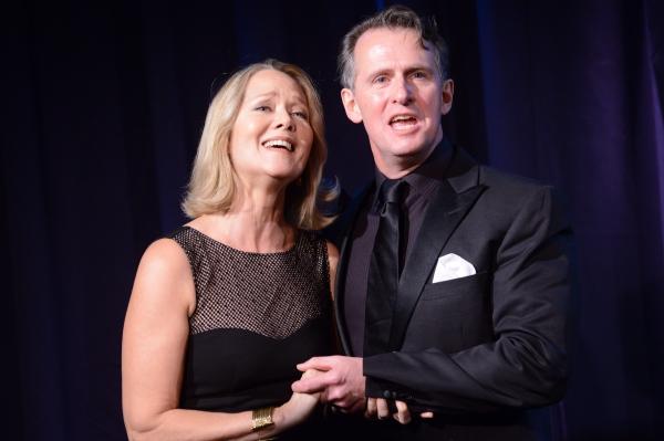 Rebecca Luker and Ted Keegan