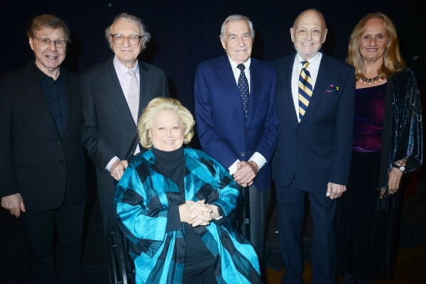 Photo Flash: Rebecca Luker, Ted Keegan, Sheldon Harnick and More Tribute Barbara Cook & Lee Adams