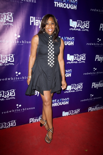 Photo Flash: Opening Night On the Red Carpet of Pasadena Playhouse's BREAKING THROUGH - Angela Bassett, Alison Luff and More!