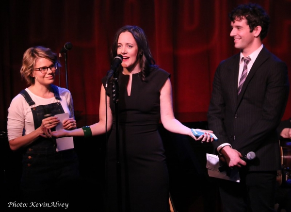Celia Keenan-Bolger, Karen Walsh and Michael Urie