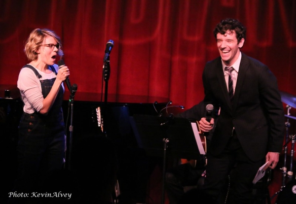 Celia Keenan-Bolger and Michael Urie