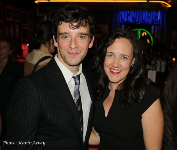 Michael Urie and Karen Walsh