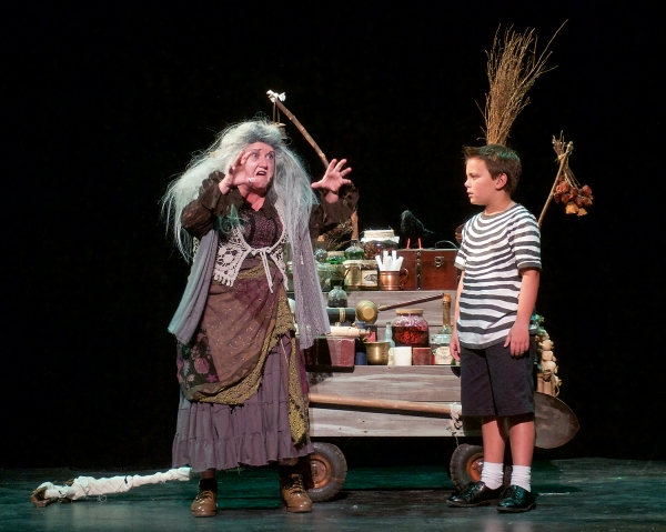 Tracey Collins (grandma) and Christian Collins (Pugsley) Photo