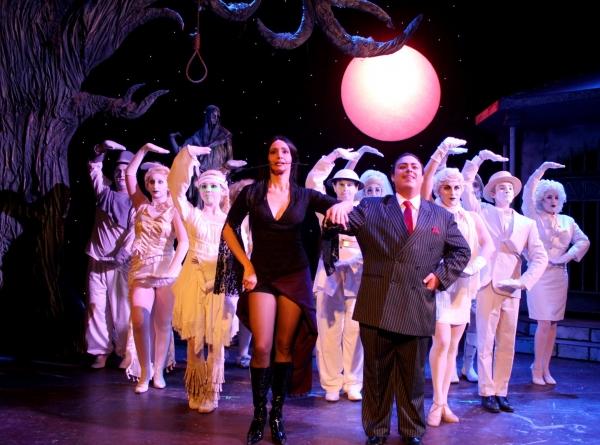 Trina Beck (Morticia) & Johnny Missakian (Gomez) Photo